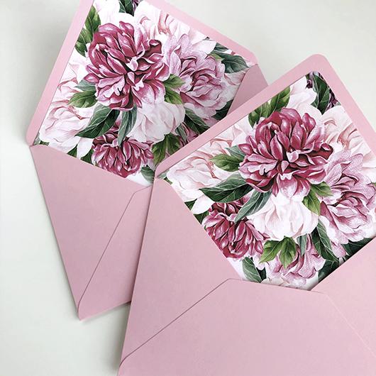 Поздравление, открытка вкладыш в цветы